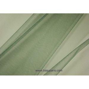 Tissu tulle doux nylon vert foncé 150cm 5433-26