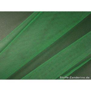 Tissu tulle doux nylon vert 150cm