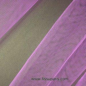 Tissu tulle doux nylon violet 150cm