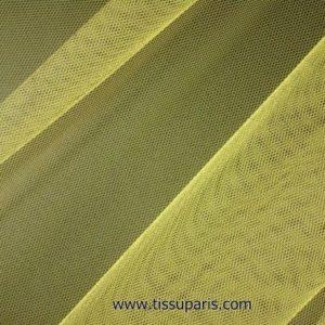 Tissu tulle doux nylon jaune 150cm 5433-15