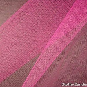 Tissu tulle doux nylon fuchsia 150cm 5433-14