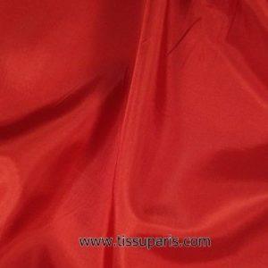 Tissu pour doublure rouge 145cm 1663-4