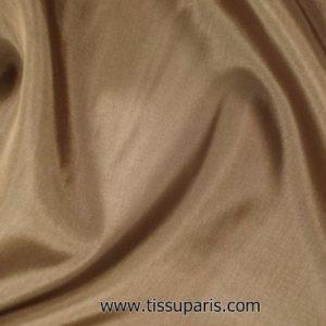 Tissu pour doublure marron 145cm 1663-13