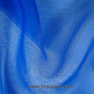 Organza de nylon bleu env. 145cm 7310-6