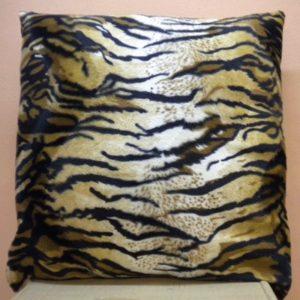 Housse de coussin 40*40 tiger marron HC05