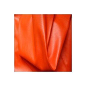 Tissu Simili Cuir Souple Orange Foncé SMLS02