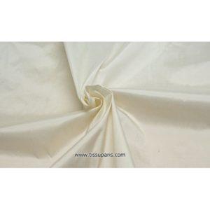 Doupion Blanc ( Soie Sauvage - 100% Soie )