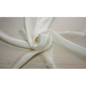Taffetas Blanc ( 100% Soie )