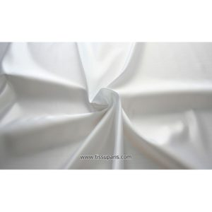 Rase Blanc Polyester