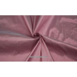 Doupion Rose clair ( Soie Sauvage - 100% Soie )
