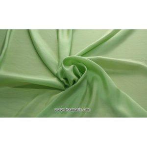 Taffetas vert ( 100% Soie )