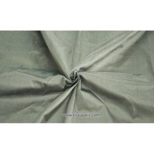 Doupion gris 441186 (100% Soie Sauvage)