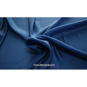 Taffetas bleu 402141 ( 100% Soie )