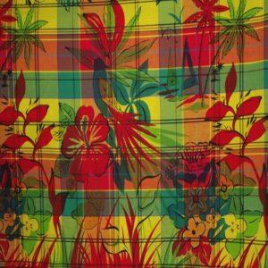 Tissu coton madras MDS030