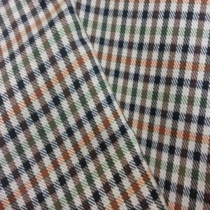 Tissu écossais polyester viscose