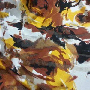 Mousseline de soie dévorée 16