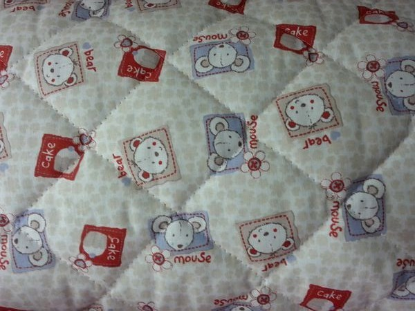Tissu enfants matelass 08 tissu paris vente de tissus au m tre en ligne - Tissu matelasse pour bebe ...