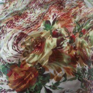 Mousseline de soie dévorée 09